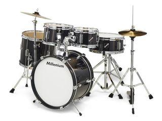 Millenium focus junior drum set black - set tobe copii