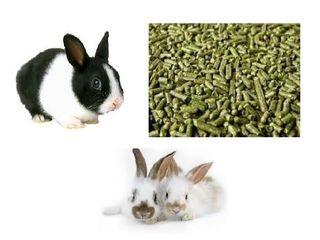Furaje complete  granulate bio pentru iepuri!