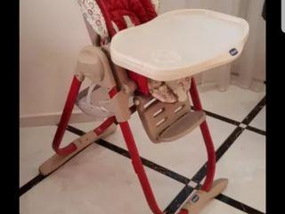 Итальянский стульчик-шезлонг 3 в 1 Chicco Magic 0+ от рождения до 3 лет