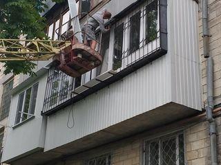 Балконы в Кишиневе под ключ, ремонт балконов любой серии, расширение, остекление балконов Кишинев!