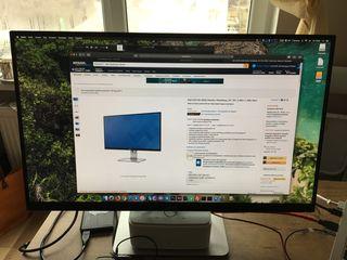 """Dell U2515H monitor UltraSharp, 25"""", IPS, 2.560 x 1.440 (QHD), Black"""