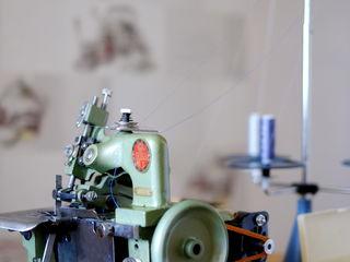 Оверлок 3-х ниточный SEIKO GN-1 (51й класс). Краеобметочная швейная машина.