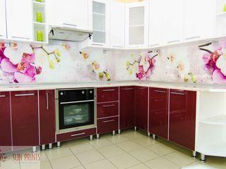 Șorț (brîu) de bucătărie (sticlа cu desen) - кухонный фартук из стекла
