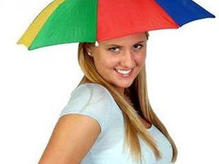 Зонт шляпа!