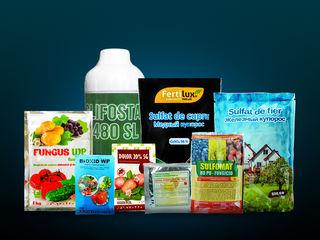 Produse de uz fitosanitar (Fungicide, Ierbicide, Insecticide, Îngrășăminte minerale)