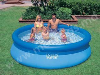 Piscina gonflabila 7920L 396x84cm Easy Set Pool Intex/Бассейн надувной/Bazin/Livrare Gratuita/1399 l
