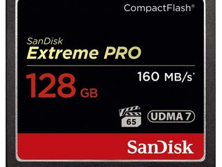 SanDisk SDCFXPS-128G-X46 128GB Extreme Pro 160MB/s CompactFlash Card