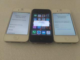 Se vinde 3 iphone 4s 16Gb la piese