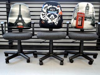 Mese de birou, scaune și fotolii noi pentru oficiu. Livrare în toată Moldova. Garanție.