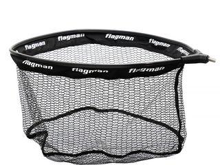 Голова Flagman для подсаков !! Прорезиненная сетка (синтетический полимер). Легкий и прочный каркас.