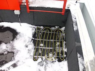 Incalzire prin cablu, sisteme degivrare si prevenire inghet jgheaburi, burlane, terase, cai de acces