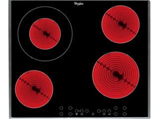 Варочная панель Whirlpool AKT 8600 BA  Электрическая/ Gray Черный
