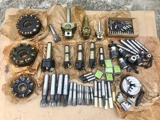 Фрезерный инструмент. Цанговый патрон , Расточная головка , Фрезы механические СССР новые