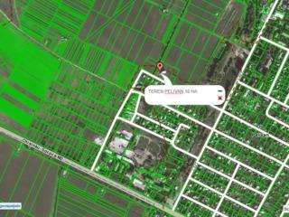 Teren agrar 10 hectare consolidate (sau 20 ha consolidate), drum asfaltat pina la teren...
