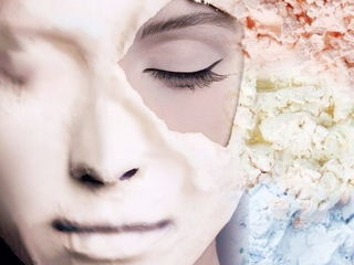 Массаж лица плюс альгинатная маска.Рышкановка.