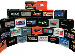 Acumulatoare auto, Varta, Bosch, Fiamm, Xulk, Romir, Megabat etc. Автомобильные аккумуляторы.