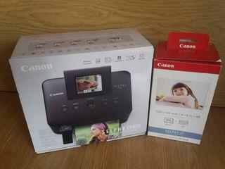 Новый струйный принтер Canon Selphy CP800