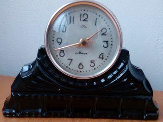 каминные часы Маяк
