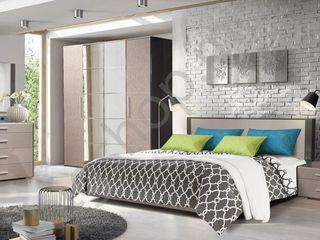 Dormitor KMK Stefany (pat+2 noptiere+comoda). Livrare gratuită!!