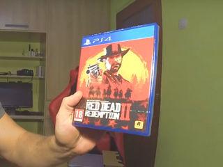 PlayStation 4 Pro (1T)+Red Dead Redemption II  cea mai bună înlocuire a сonsolă de jocuri vechi!