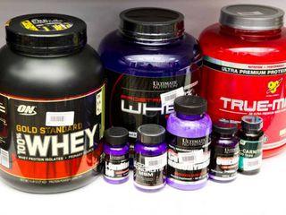 Протеины, гейнеры, жиросжигатели, креатин, аргинин, карнитин, аминокислоты  // suplemente nutritive