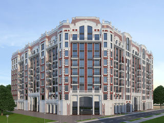 Centru, 1 camera - 46.31 m2, etajul 4, cu vedere la podul Ismail