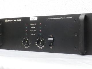 CREST Audio CC151. Усилитель мощности - PA. Made in USA