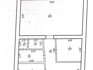 Se vinde spațiu comercial cu posibilitatea transformării în apartamente!
