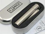 Стальная бензиновая зажигалка Clipper
