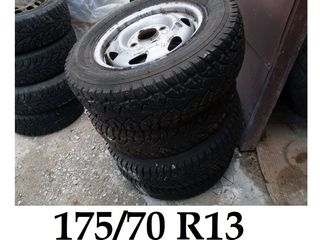 Complect ford, r13 175/70 reducere .la roti de iarna100 euro sau cu discuri 120 euro