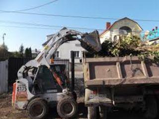 Бельцы Снос любых строений домов очистка участков выкорчевка деревьев пней вывоз строймусора