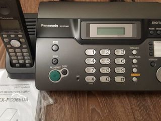 "Fax ""Panasonic"" KX-FC966UA"