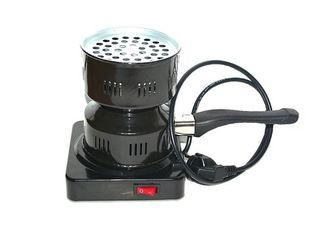 Плитка для розжига углей черная(новая)