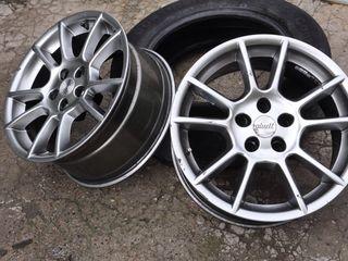 """5x120 17"""" 8j H2 диски титановые на VW T5 T6 и BMW"""