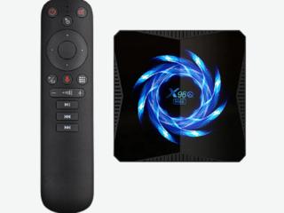 Супер трио! Tvbox X96Q Max 4/32Gb + IPTV каналы + AirMouse G10 / G20 / G50 по лучшей цене!