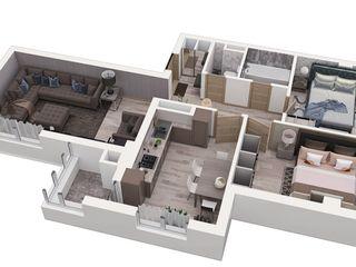 Atenție! Apartamente cu 1x 2x 3x odăi!
