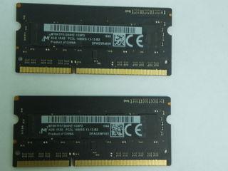 Память  -  Ram  для  Apple 1 - Hiunix     DDR 3L   -  4 gb    2  -  Micron DDR 3L    -   4 gb