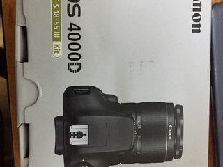 Vind aparat foto nou canon 4000d kit