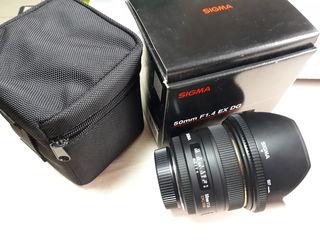 Lens Sigma AF 50mm f/1.4 DG HSM F/Nik - 630 Eur