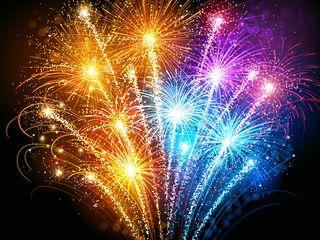 Focuri de artificii, фейерверки