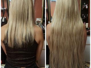 Итальянское наращивание волос на микро капсулки!