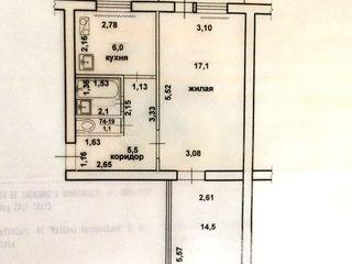 Срочная продажа! Северный, Бендеры, 2-ком. квартира под ремонт, 5/5 эт.