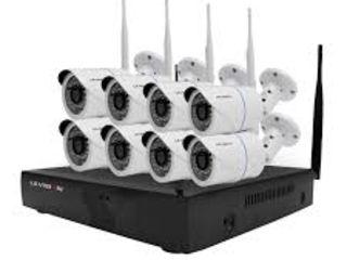 Камеры видеонаблюдения wifi HD 8 штук