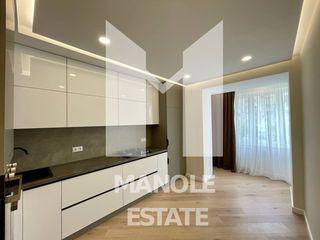 /Se Vinde/ Apartament 2 camere + living, euroreparație, Chisinau, sect. Centru