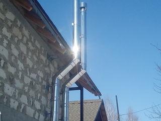 Cosuri de fum din inox ,instalare garantie direct de la producator.