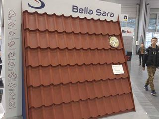 Nou tigla metalica modulara Bella Sara 0.5 lucios