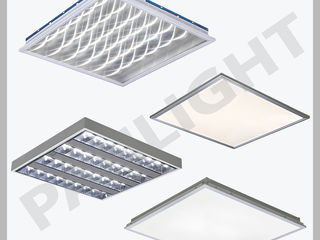 Светодиодные светильники, led панели, офисные, panlight, led, светодиодное освещение, светильники