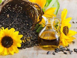 Vand 1 tonă de ulei de floarea soarelui