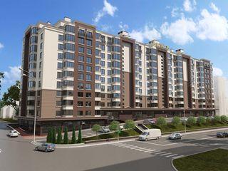 Astercon Grup - sect.Buiucani, penthouse cu terasă 184,48 m2, 6 odăi, 720 €/m2, prețul 132 826 €