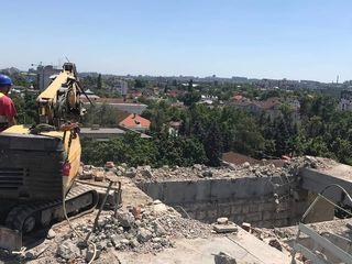 Demolare,demontarea constructilor din beton metalice
